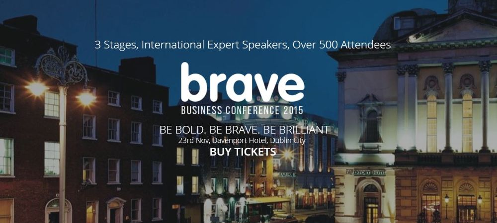 #BraveBizConf Confidence on Camera – Live from the Irish SME Conference